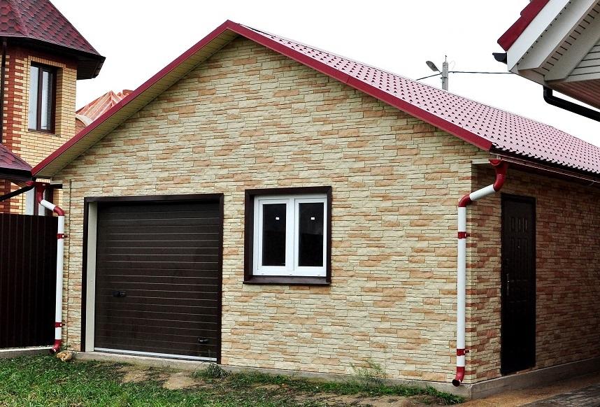 Внутренняя отделка гаража Отделка стен в гараже