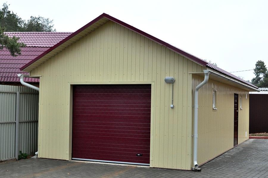 проект гаража