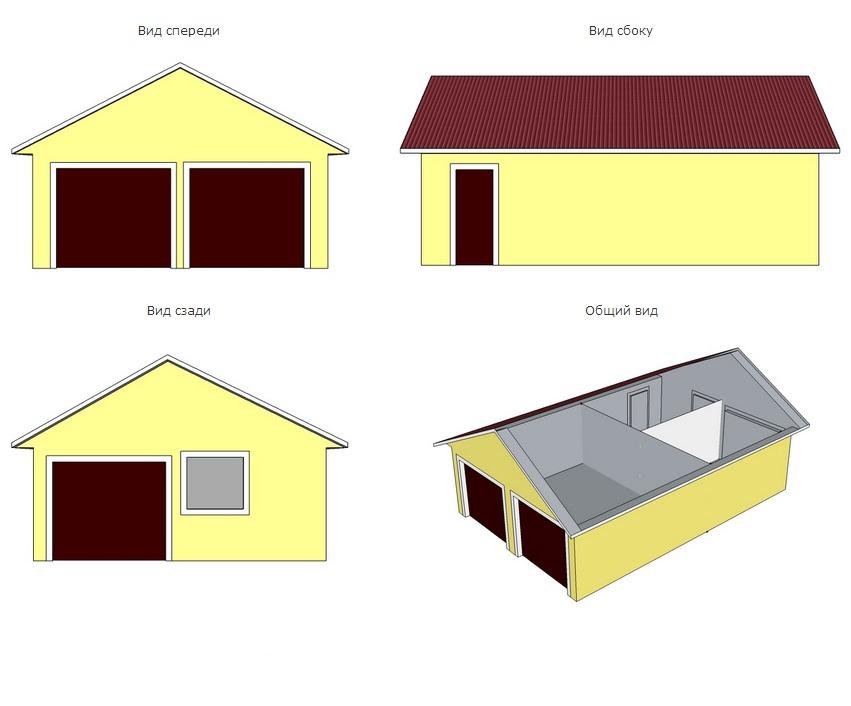 Дом 3 на 4 из блоков