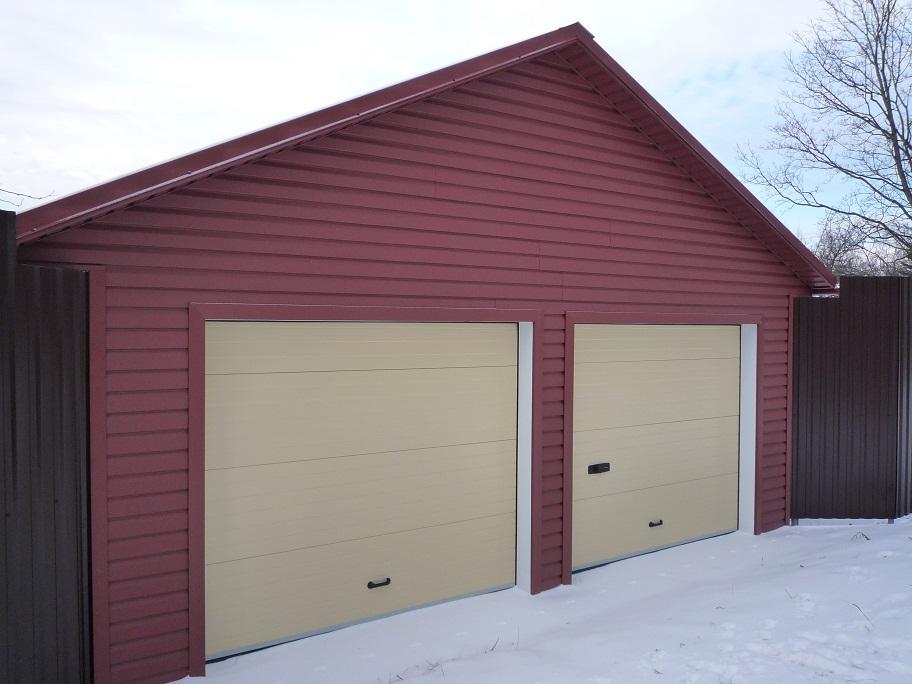 Гараж на дачном участке фото рассчитать стоимость строительства гаража