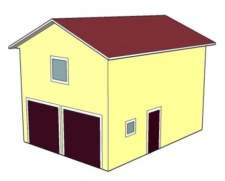 Двухэтажный гараж стоимость гараж металлический новочеркасск