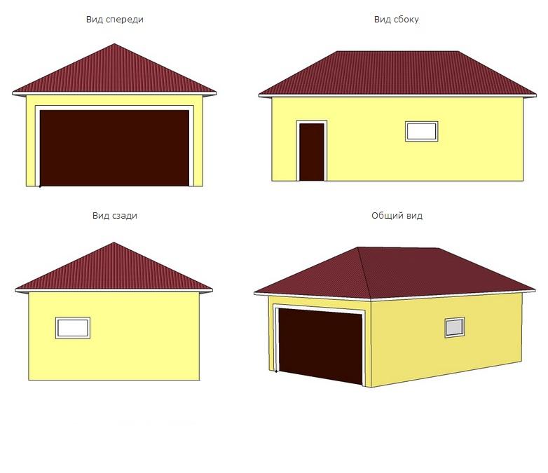 Проект гаража 9 5 купить гараж в минске в центральном районе